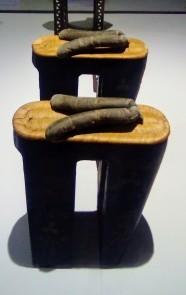 """Paire de socques dits """"koma geta"""", 2nde moitié du XIXème siècle - Edo (actuelle Tokyo)"""