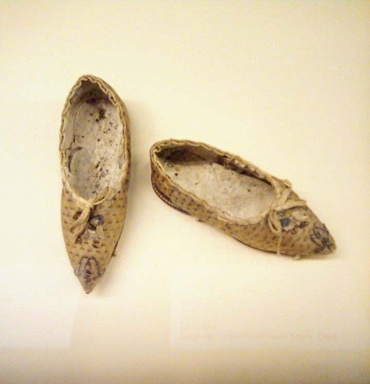 Paire de chaussures pour bébé, 1788 - Pays-Bas